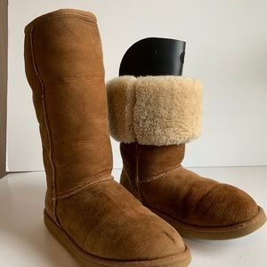UGG classic chestnut tall boots size 8